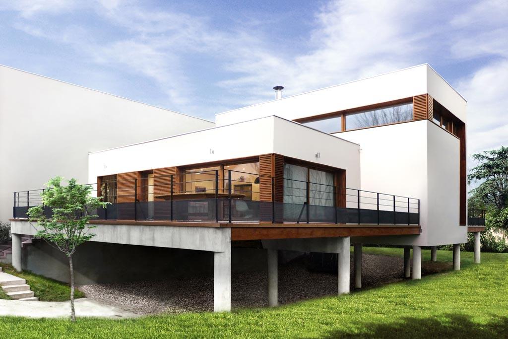 Bien connu STAVY architectes Paris / Logements / Maison sur le pont  IU84